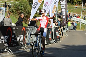 Jarne De Meyer winner in the junior category